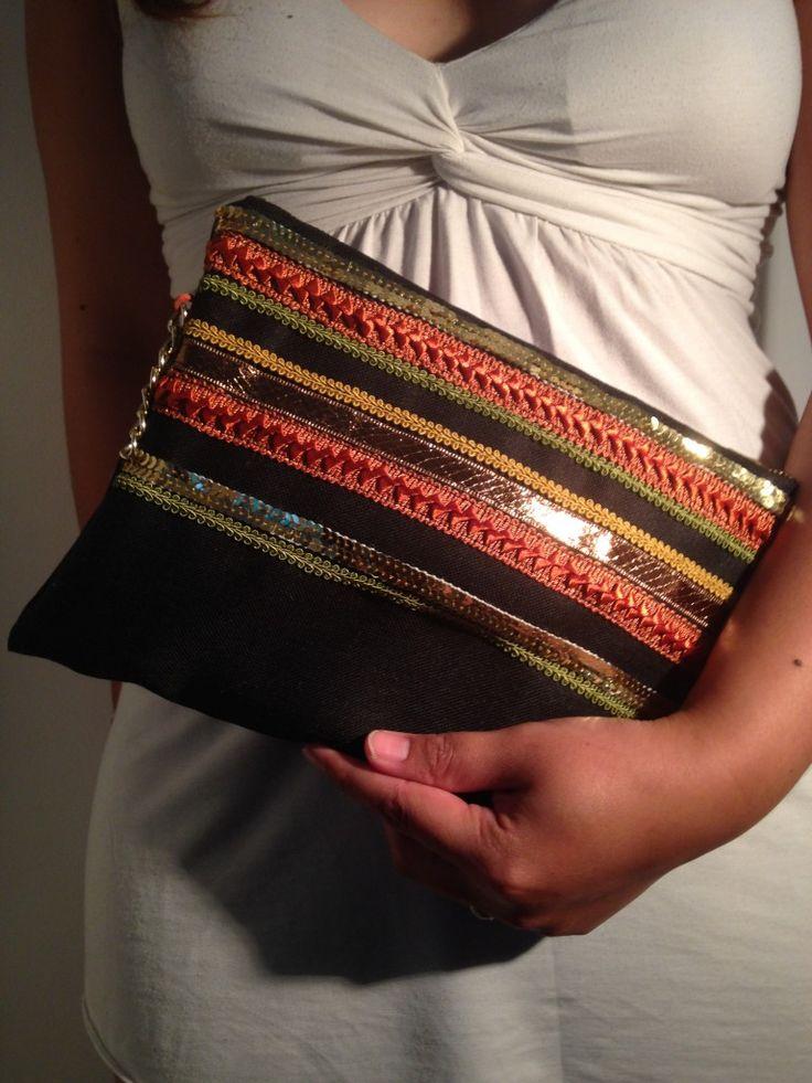 diy like a boho o le tuto de the pochette de l 39 t lagouagouache couture accessoires. Black Bedroom Furniture Sets. Home Design Ideas