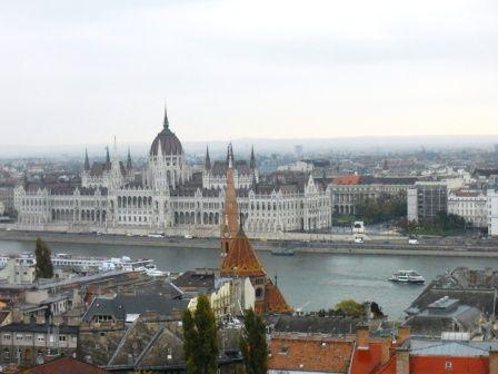 Budapest et son parlement
