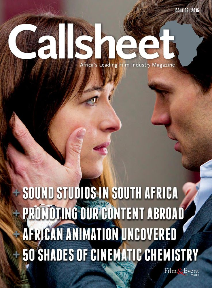 """Check out our article on page 15 """"Storage Solutions for the Digital Age - The Callsheet Issue 2  The February edition of the Callsheet is packed with awesome content - from promoting SA films and TV abroad, to sound studios and African animation. Brought to you by Film & Event Media."""