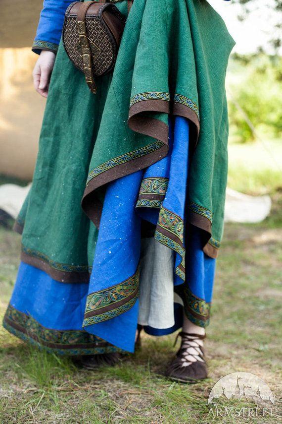 PRECIO CON DESCUENTO Disfraz de vikingo y delantal Ingrid la