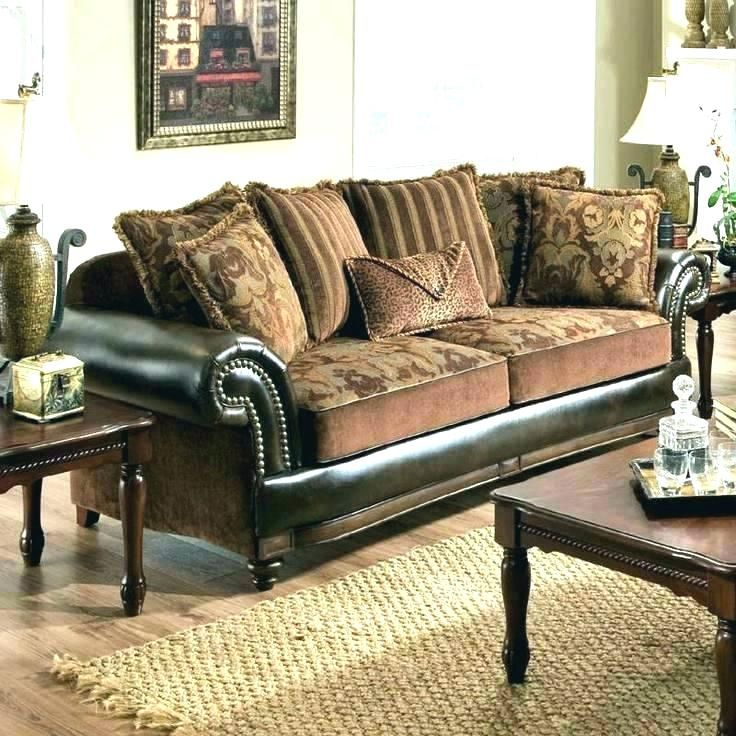 Mixing Leather And Fabric Sofas Couch Fabric Best Leather Sofa