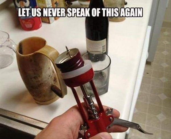 And this relatable mistake. | 22 Wine Memes That Will Make Wine Lovers Laugh