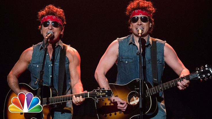 "Bruce Springsteen and Jimmy Fallon Poke Fun at New Jersey Bridge Scandal with 'Born to Run"" Parody"