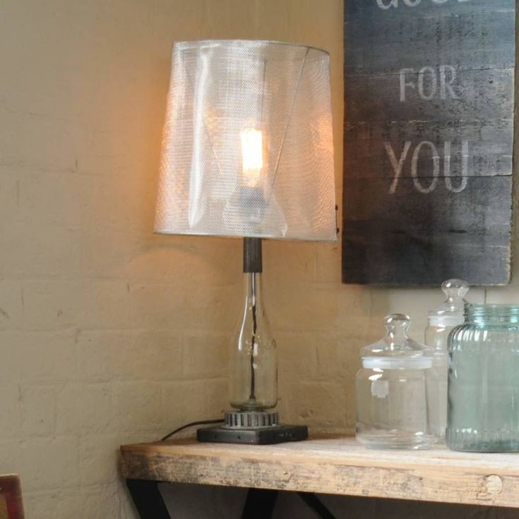Are you interested in our unusual table lamp? With our upcycled industrial lighting you need look no further.