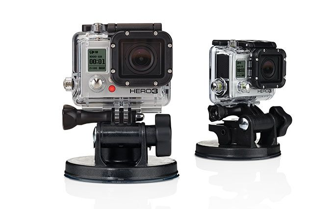GoPro Suction Cup | Industrial strength with proven speeds of 150+ mph