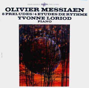 Olivier Messiaen, Yvonne Loriod - 8 Préludes / 4 Études De Rythme (Vinyl, LP) at…