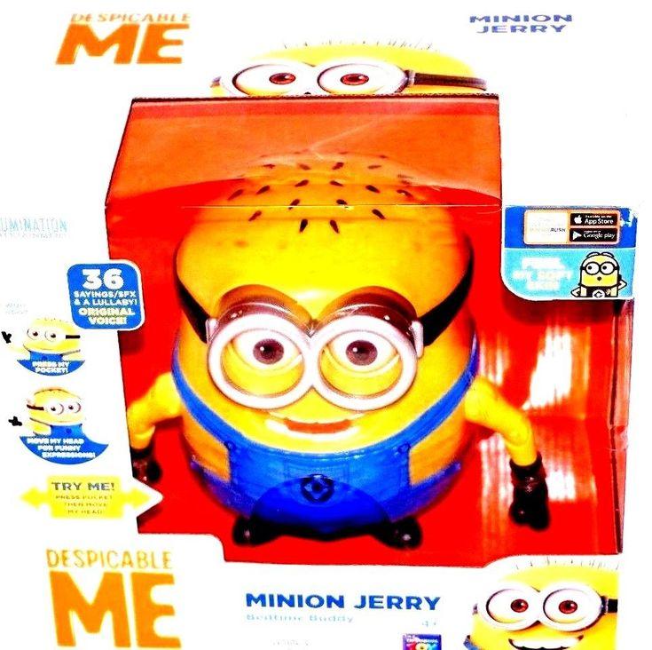Despicable Me Bedtime Minion Jerry