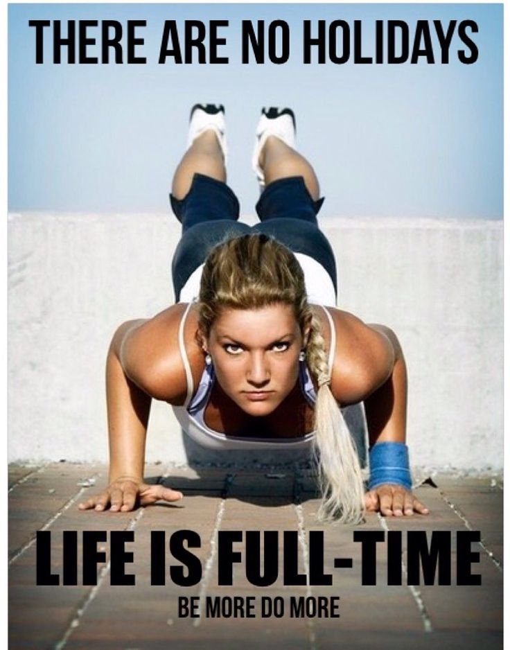 Train for life. Not just for an event. Or a season.  Keep going.
