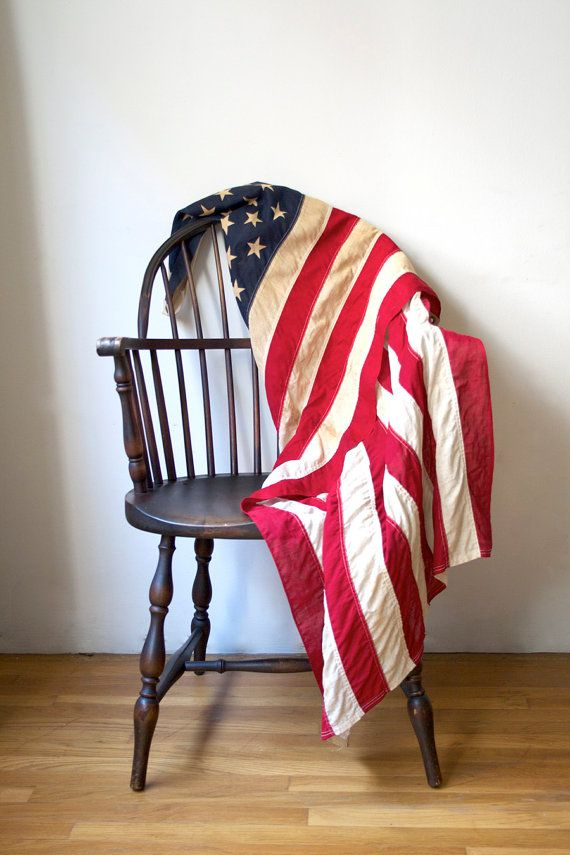 Vintage Flag by jacksredbarn on Etsy, $85.00