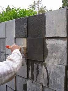 coating batu alam dengan kuas
