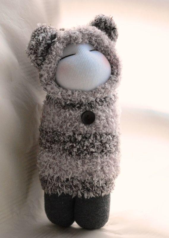 Grace--sock doll