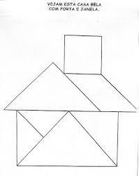 Resultado de imagem para tangram para imprimir