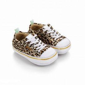 Funky Baby Shoe Leopard