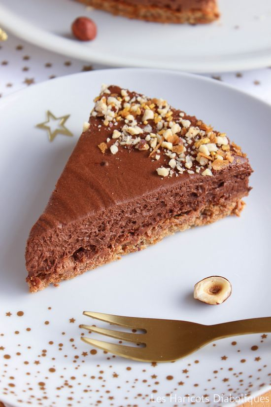 Mini gateau chocolat noisette