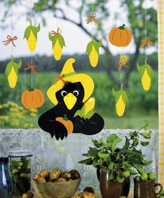 the 25 best basteln herbst fensterbild ideas on pinterest fensterdeko herbst jahreszeiten. Black Bedroom Furniture Sets. Home Design Ideas