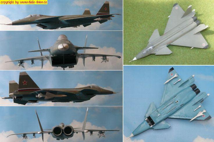 Mikojan-Gurewitsch MiG 1.44 MFI (Revell 04369?) 1:72