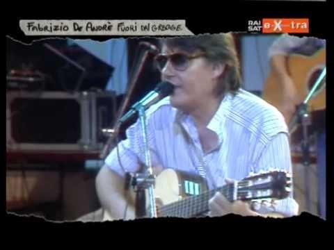FABRIZIO DE ANDRE' -  Andrea  (live tv 1982)