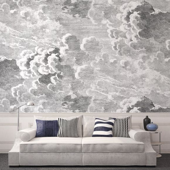 cole son nuvolette - 4 plex bedroom or living room accent wall. - perfect.