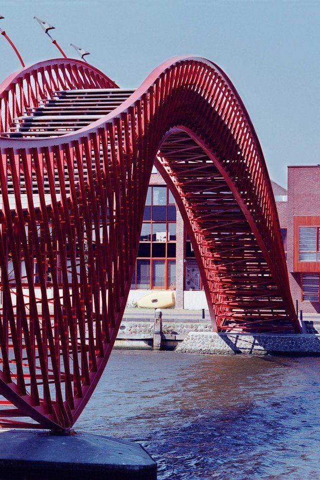 607 best images about urban design elements on pinterest for Design bridge amsterdam
