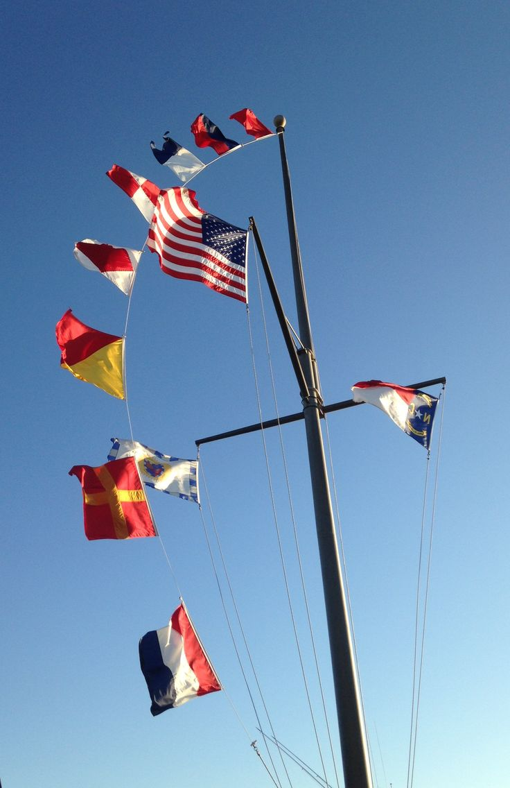 Beaufort ncs flag pole flag pole nautical flags