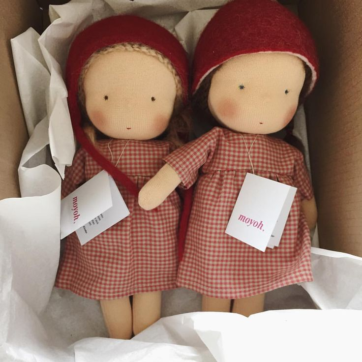 Lovely moyoh Waldorf doll manufactured in Berlin