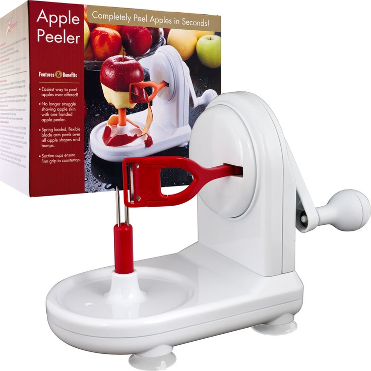 Perfect Peel Apple Peeler EasyClean Removable