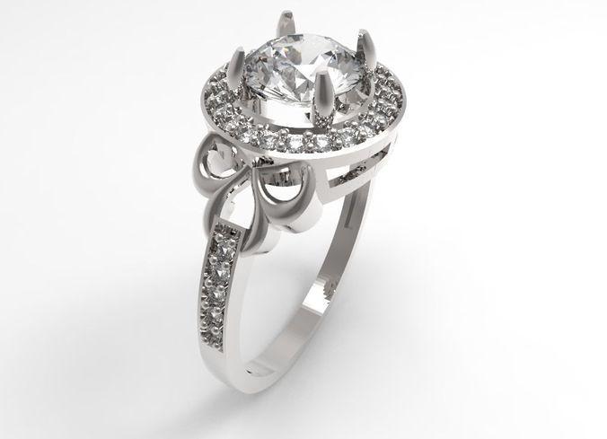 Ring Athena STL | 3D Print Model download