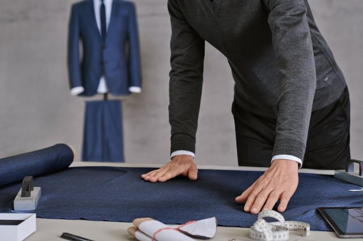 The finest Italian fabrics, each one exclusive to BOSS Menswear, are used to create the BOSS Full Canvas suit collection.