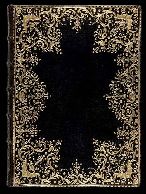 The binding shown above is found in the British Library Database of Bookbindings. This binding has been attributed to Derome le jeune, however a comparative study of the gold tooled imprints reveals that the tools used the create this beautiful dentelle à l'oiseau were those of Dubuisson.