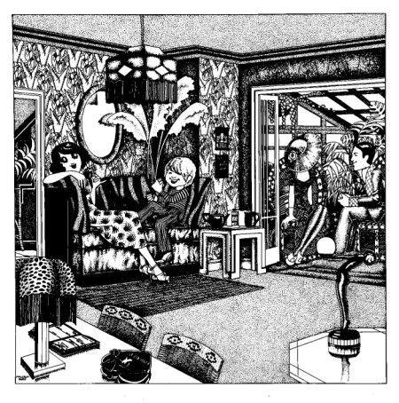 Big Biba illustration by Malcolm Bird