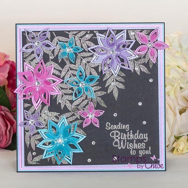 Stamps By Chloe - Flower Arch - CraftStash