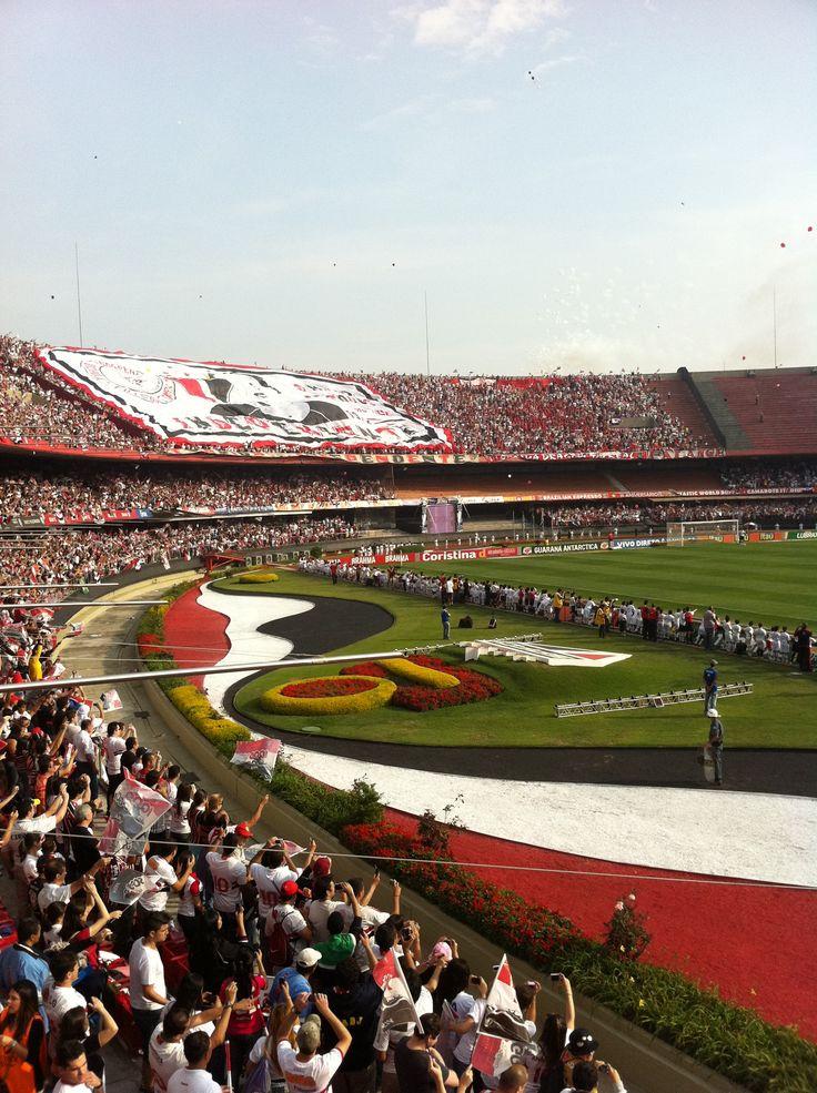 SPFC soccer game @ Morumbi Stadium,  São Paulo