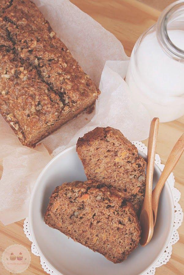 Bizcocho de Zanahoria Sin Azúcar: recetas sanas y buenísimas!! | Cocina
