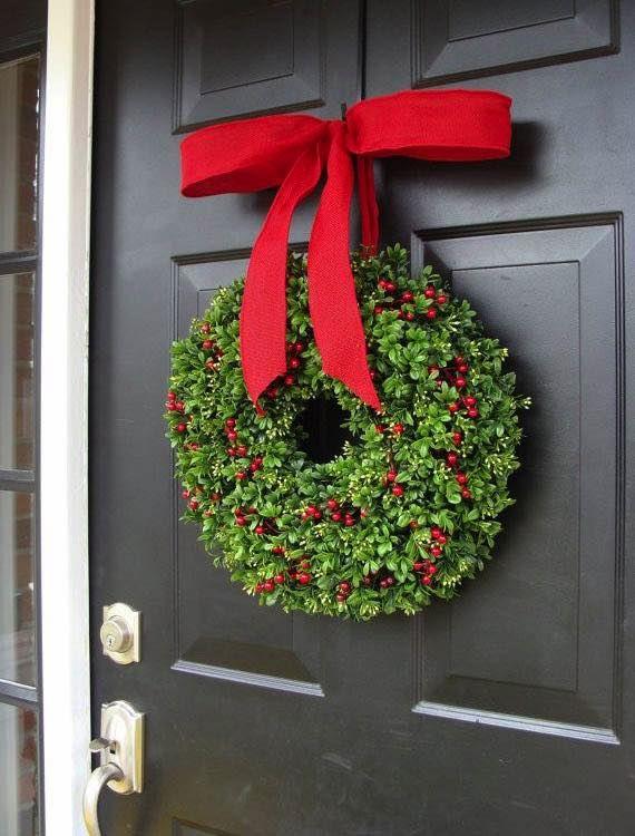 NapadyNavody.sk | 17 nápadov na vianočné vence pre inšpiráciu