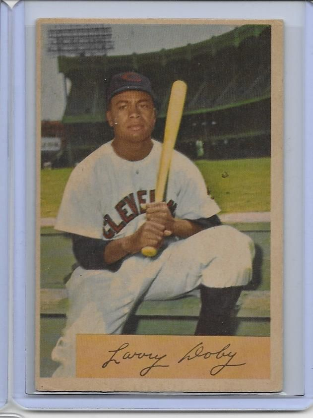 1954 Bowman 84 Larry Doby Ex Indians Hof Card B C Unlimited