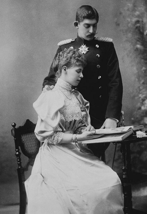 Prince and Princess Ferdinand of Romania, 1893