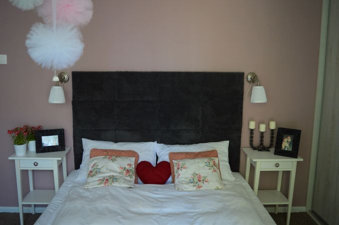 DIY zagłówek do łóżka