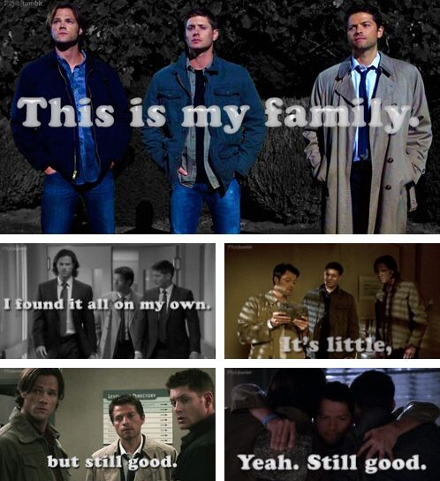 Supernatural Quotes Family Don T End With Blood: Family Doesn't End With Blood