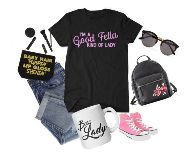 """Good Fella"" by myteesharp on Polyvore featuring Converse, Illesteva and Charlotte Russe"