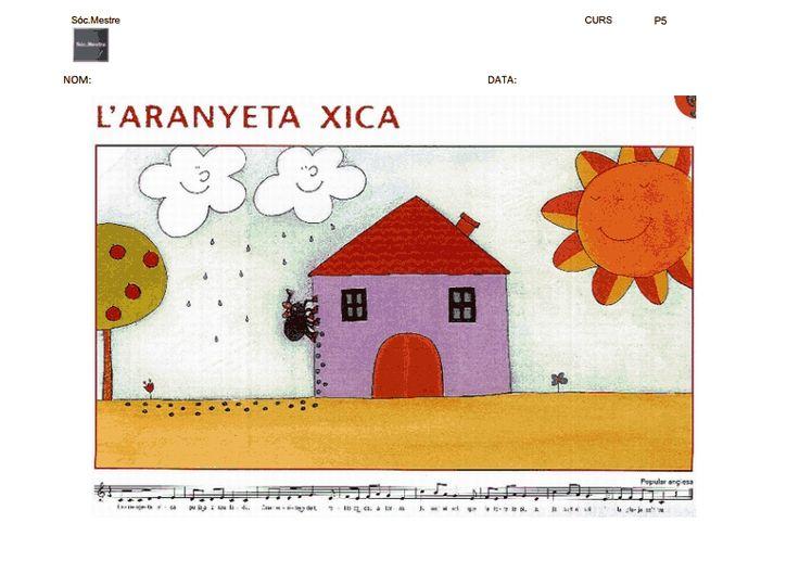 #materials #cançons #aranyeta_xica #per_plastificar