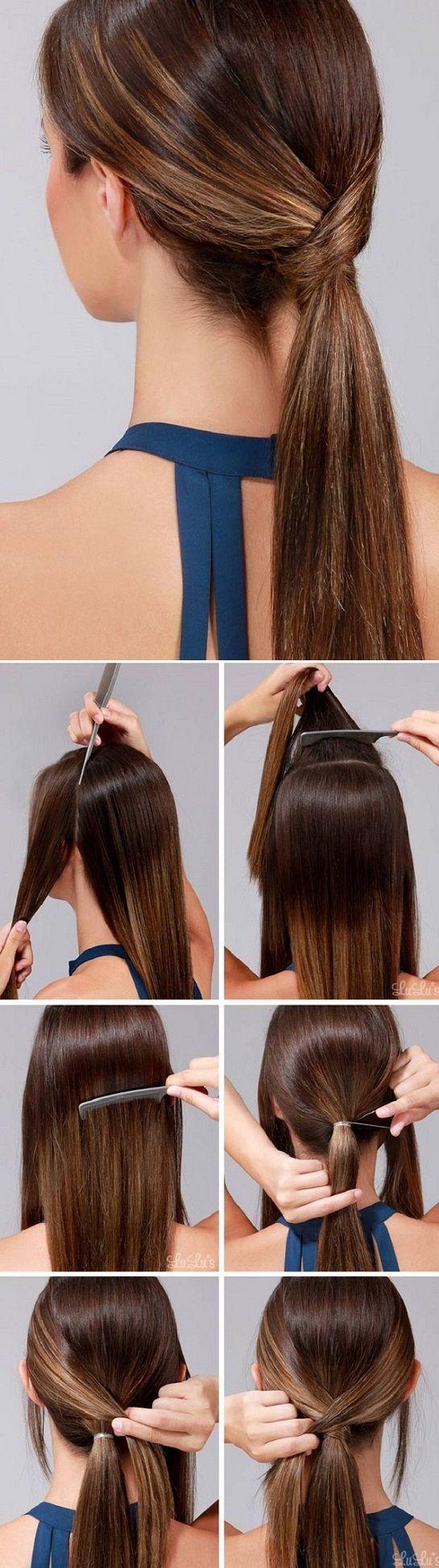 bruin-haar-lage-paardenstaart