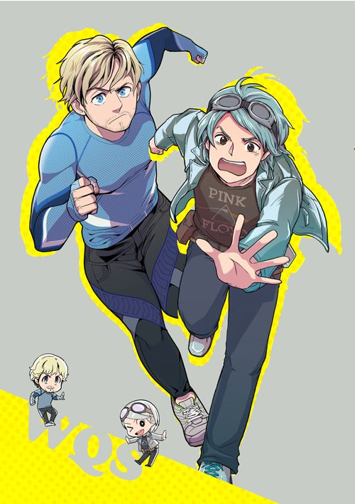 Pietro & Peter Maximoff, Avengers, X-Men - Running to steal your hearts.