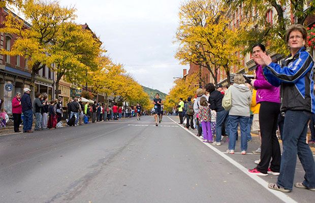 Just try to guess what's waiting at the finish line for the winos (ahem, runners), who take on the Wineglass Marathon. In its 34th year, this Boston Qualifier is growing at a rapid pace and expects 2,800 participants this fall (and another 3,000 at the half-marathon event).
