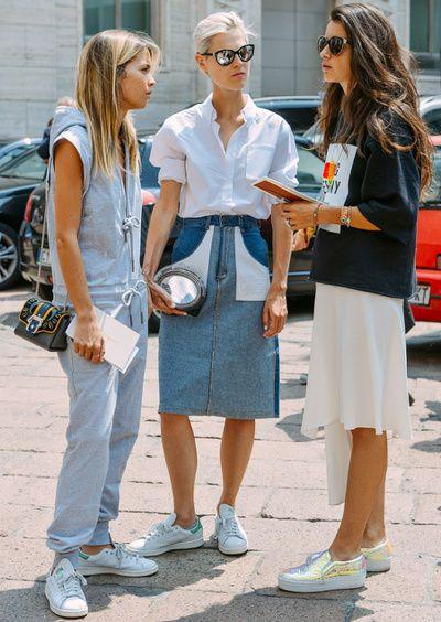 Short en jean, Chaussettes, Birkenstock... - Tendances de Mode