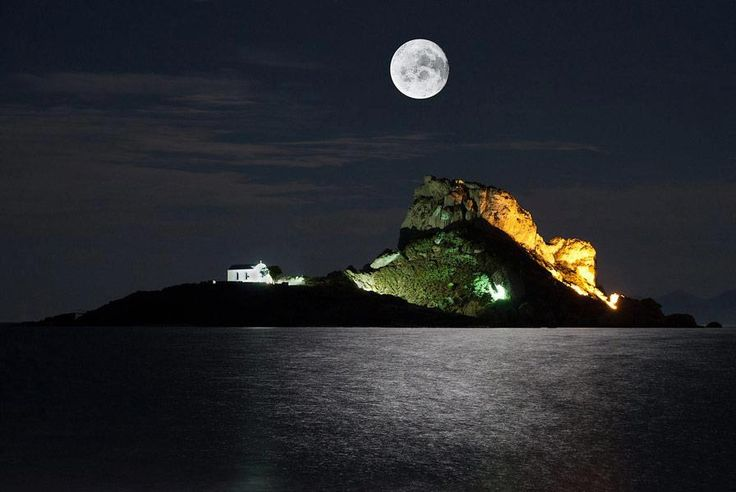 Kos Kefalos Full Moon