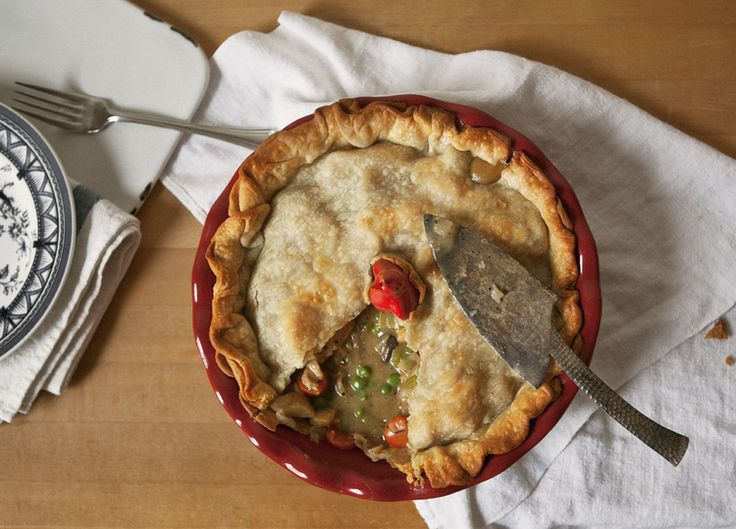 Rustic Turkey and Vegetable Pot Pie via a Better Happier St. Sebastian ...
