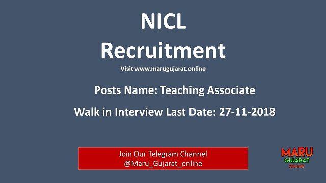 Nicl Latest Job Recruitment Nicl National Insurance Company Ltd