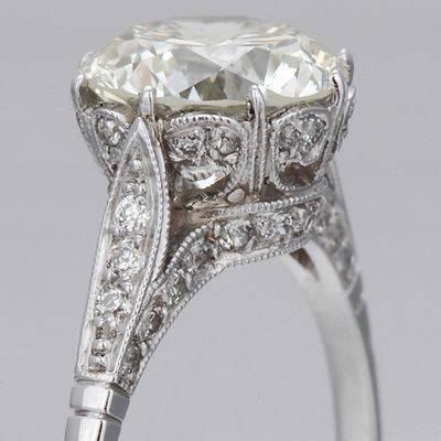 Edwardian Engagment Ring-love the style does not have to be that big