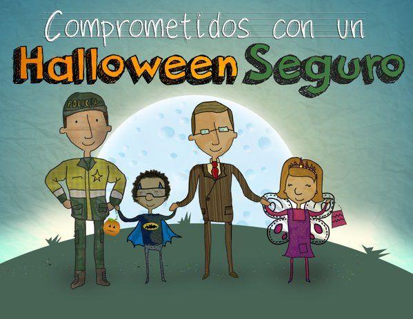 Esta celebración del #Halloween no apartes tus ojos de tus hijos. La #Seguridad de ellos depende de todos.