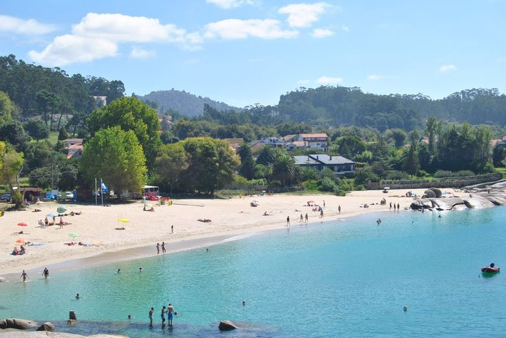 Praia de Menduiña. Cangas do Morrazo. (Pontevedra). Galicia. Spain.